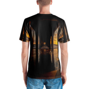 manhattan beach pier t-shirt